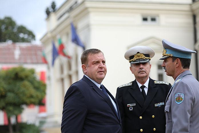 Красимир Каракачанов на празника на ВВС