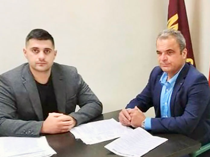 Общинските съветници от ВМРО – Враца Момчил Янков и Красимир Ангелов