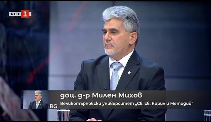 Милен Михов в предаването История.bg