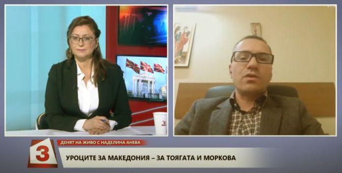 """Ангел Джамбазки в """"Денят на живо"""""""