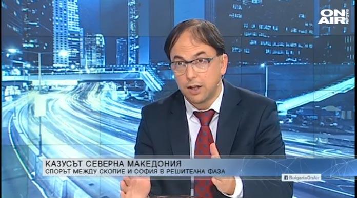 Борис Вангелов, България ОН ЕР