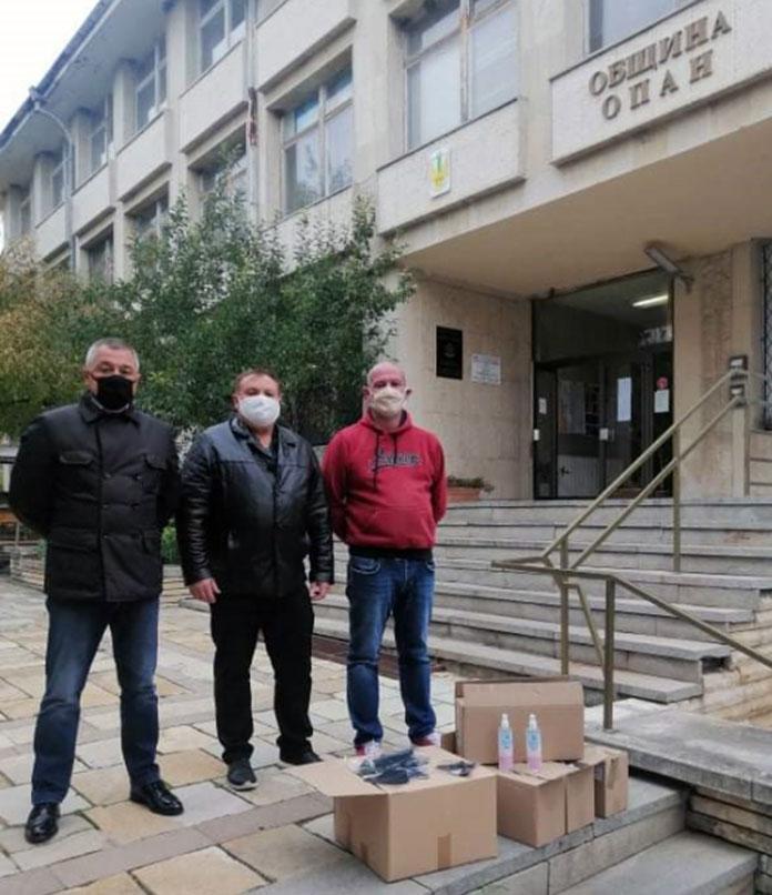Красимир Червилов, инж. Генчо Колев и Антон Андонов