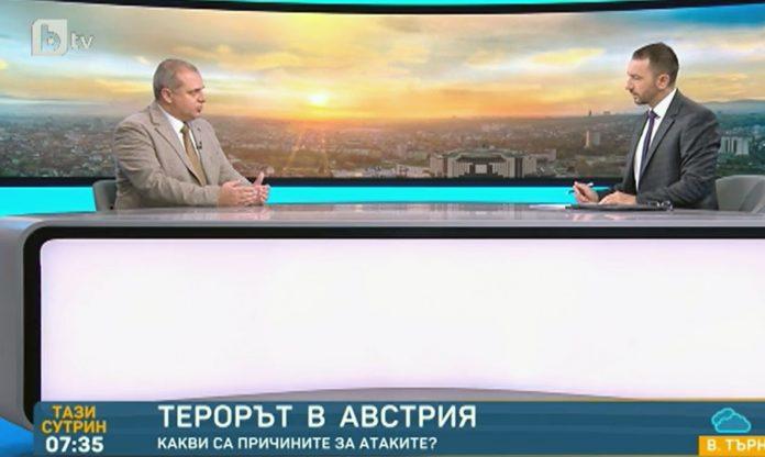 """Искрен Веселинов в студиото на """"Тази сутрин"""""""