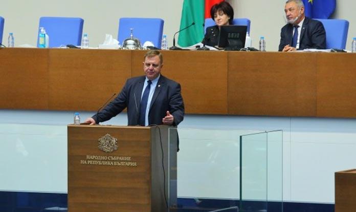 Красимир Каракачанов - Народно събрание, изслушване