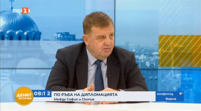Красимир Каракачанов, БНТ