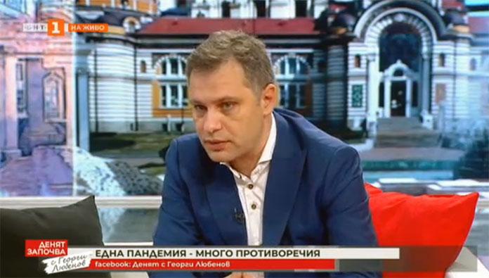 Александър Сиди в ефира на БНТ