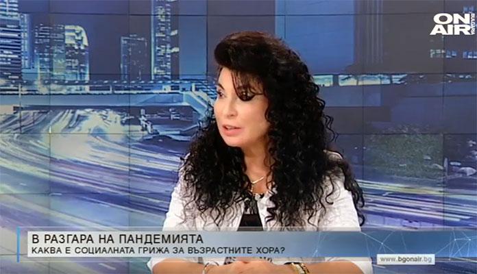 """д-р Султанка Петрова в """"Денят ОН ЕР"""""""