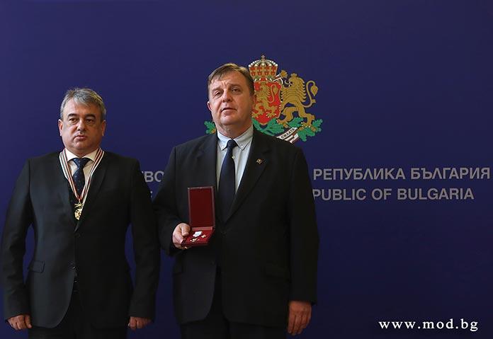 Анатолий Величков и Красимир Каракачанов