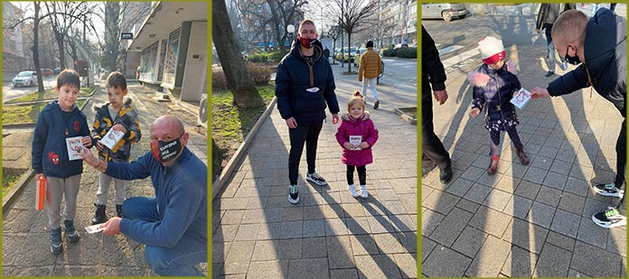 ВМРО - Стара Загора подарява патриотични мартеници