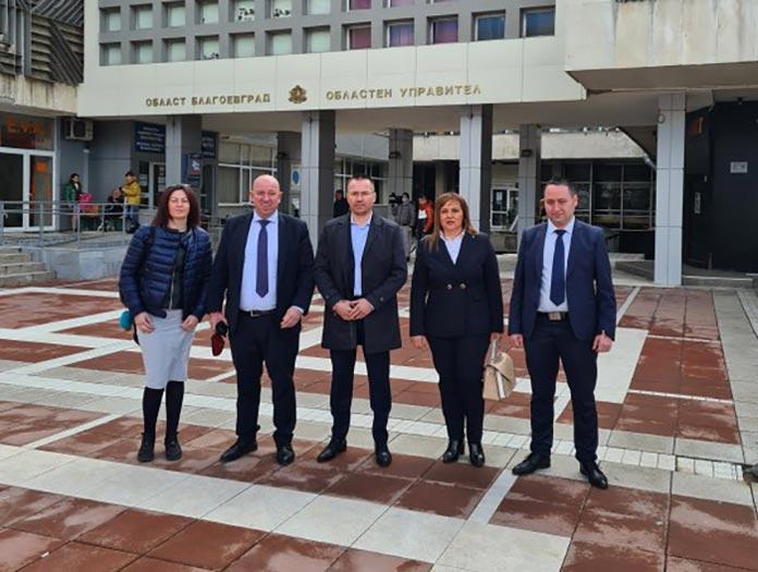 ВМРО регистрира листата си с кандидати за Благоевград