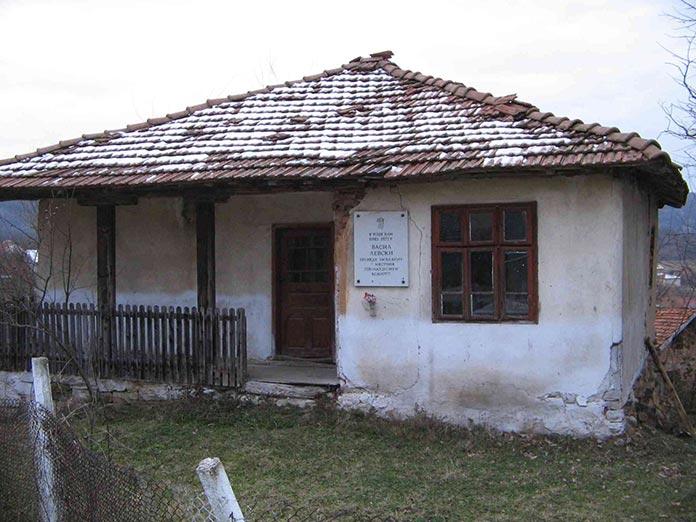 Ханът в с. Курново, където е отсядал Левски